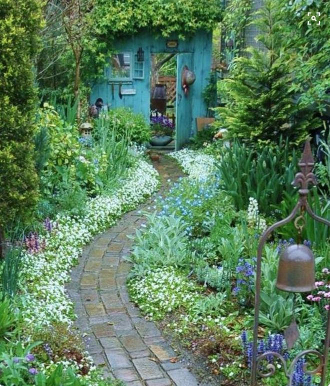 Garden House Beautiful Magazine Inspires Garden Lovers: What Is A Garden Without A Magical Garden Path? Walk With