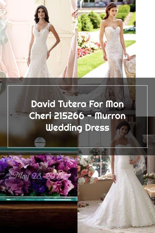 David Tutera For Mon Cheri 215266 Murron Wedding Dress