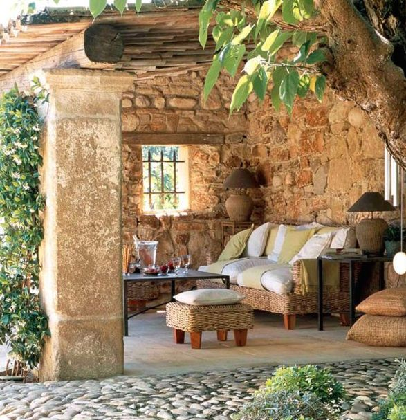 Hacienda outdoor area casa saint tower pinterest for Case in stile hacienda