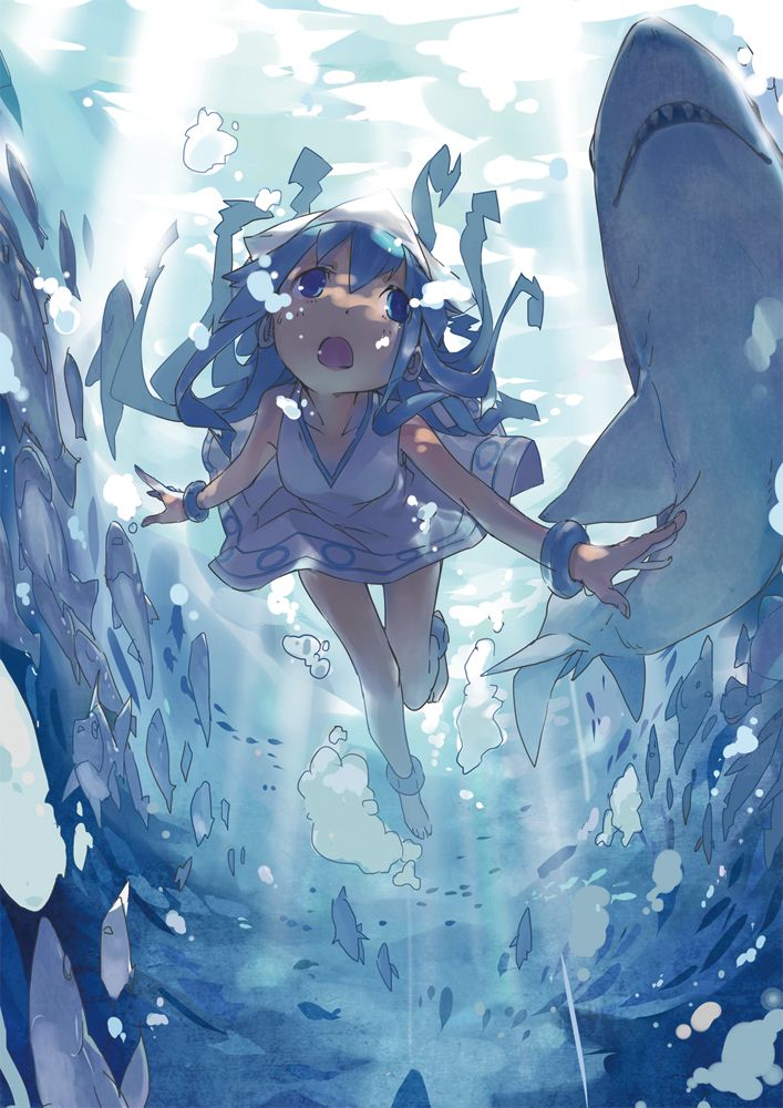 Animesuplex Com Anime Wallpaper Squid Girl Anime