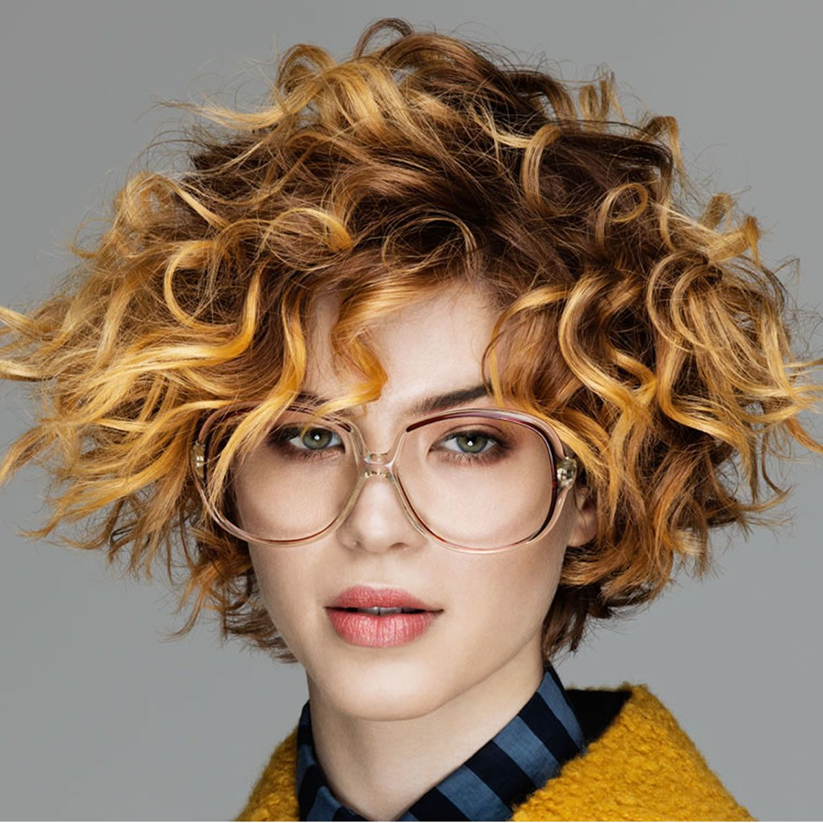Short Curly Haircuts For Long Faces Short Curly Haircuts