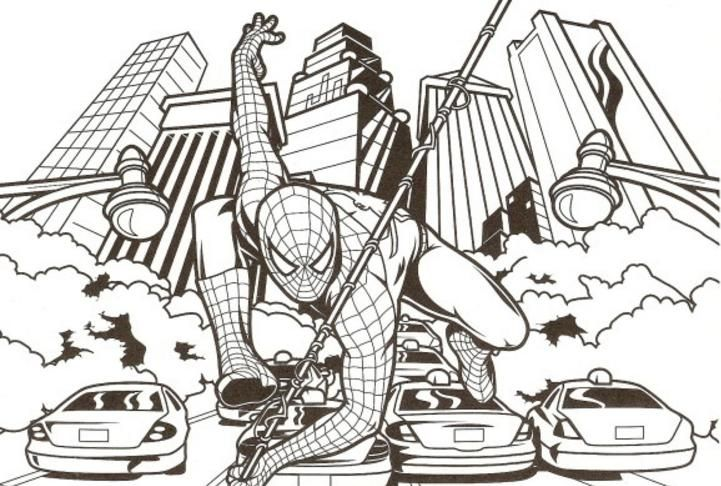 Spiderman Coloring Pages | Pinterest | Spiderman