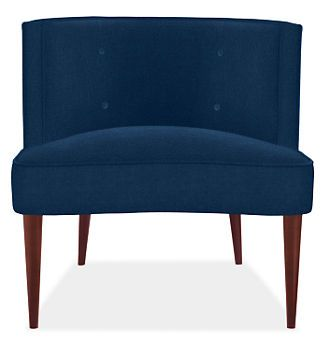 Chloe Chair in Vance Fabric - Chairs - Living - Room & Board