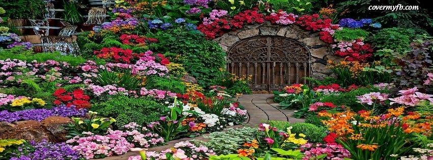 Garden Gate Facebook Covers, Garden Gate FB Covers, Garden Gate Facebook Timeline Covers, Garden Gate Facebook Cover Images