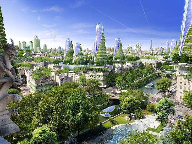 Die Grunen Stadte Der Zukunft Einen Radikalsten Entwurfe Fur Eine Stadt Liefert Visionare Belgische Architekt Vincent Callebaut