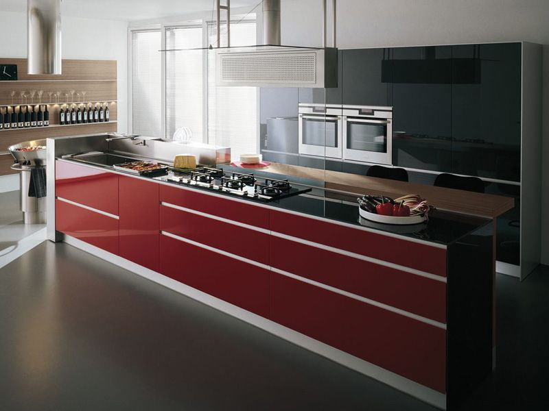 Stunning Valcucine Artematica Vitrum Contemporary - Home Design ...