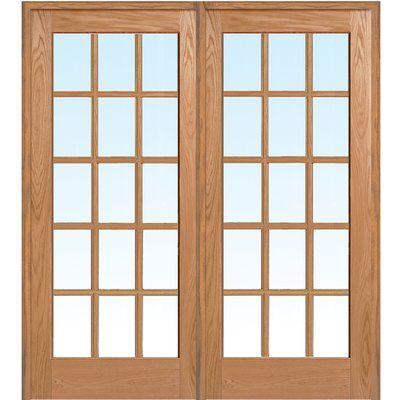 Verona home design wood panel red oak interior french door opening width also rh pinterest