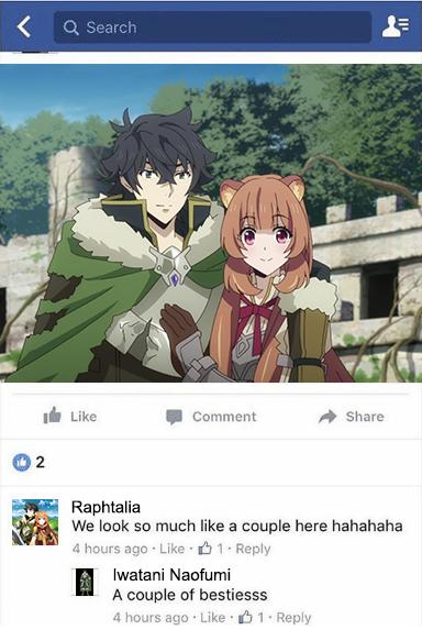 Raphtalia on Facebook animememes animememe anime