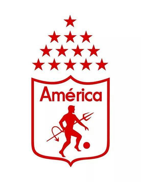 Escudo America De Cali America De Cali Dibujos Del America Escudo Del America