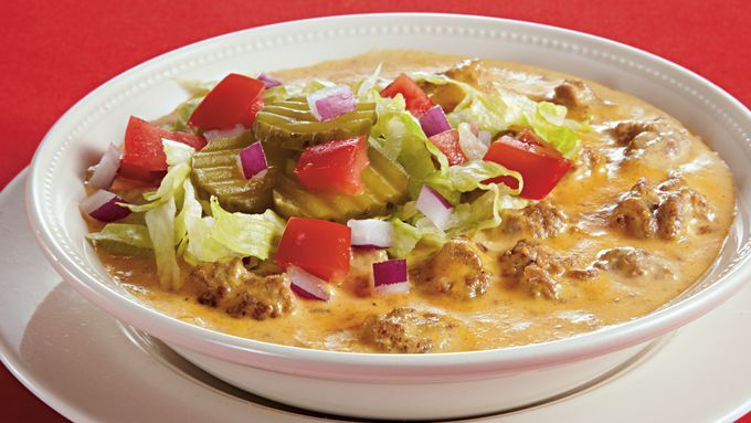 Enjoy This Cheeseburger Soup That S Made With Ground Beef