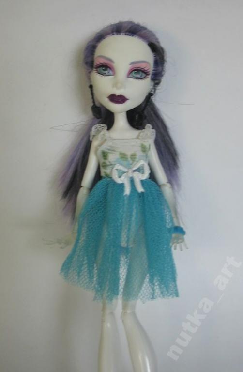 Ubranko Dla Lalki Monster High Sukienka 5561148696 Oficjalne Archiwum Allegro Doll Clothes Monster High Disney Princess