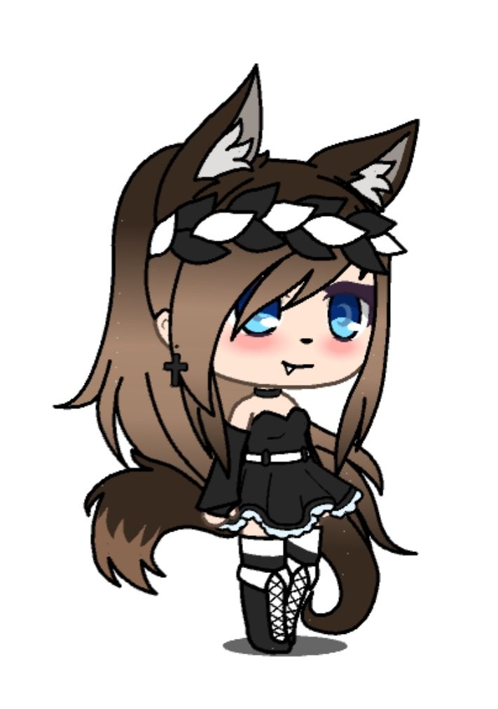 Dibujos Anime: Pin By Abby The Wolf On Gacha Life In 2019