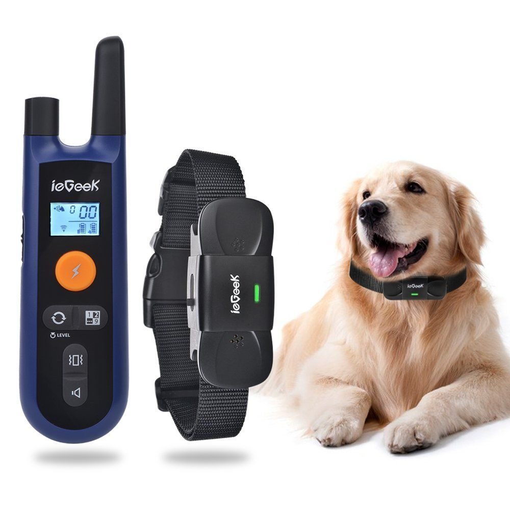 ieGeek Rechargeable Dog Training Collar, Remote Electronic