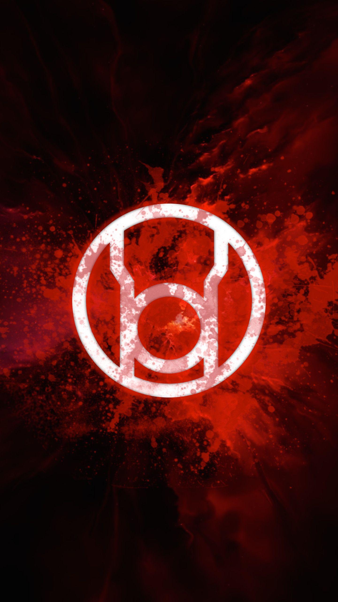 1440x2560 Red Lantern Corps Rage Red Lantern Corps Red