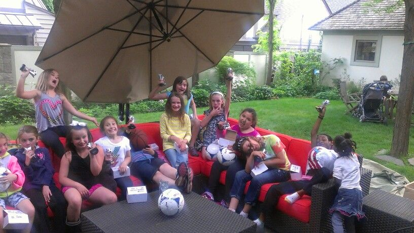 Kali soccer party