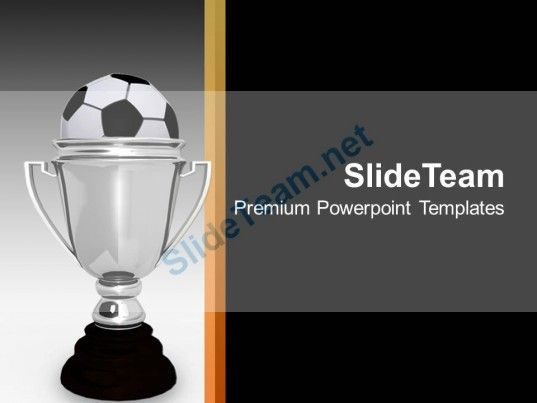 Silver trophy with soccer ball award powerpoint templates ppt check out this amazing template to make your presentations look awesome at ppt templatetemplatestheme backgroundsoccer toneelgroepblik Images