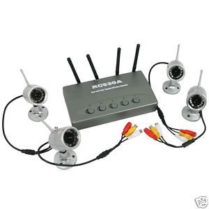 Verizon Cellular Security Camera System | Wireless 4CH
