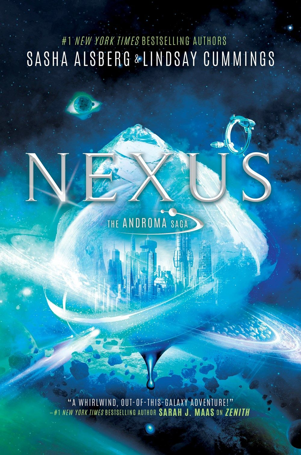 Nexus by Sasha Alsberg & Lindsay Cummings | boooooks | Ebook pdf