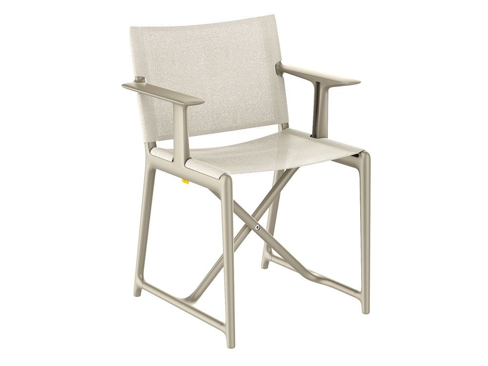 Philippe Starck Stanley Chair   The Elegance Of High Technology To  Rediscover The Timeless Director Chair.