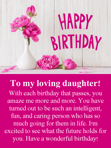 Heartwarming Birthday Wishes for Daughter From Parents