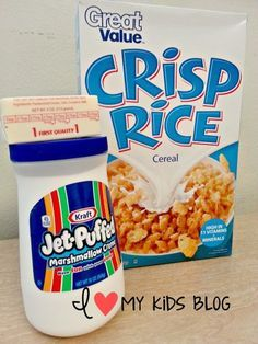 Best Ever Rice Krispie treats! One secret ingredient! #crispytreats