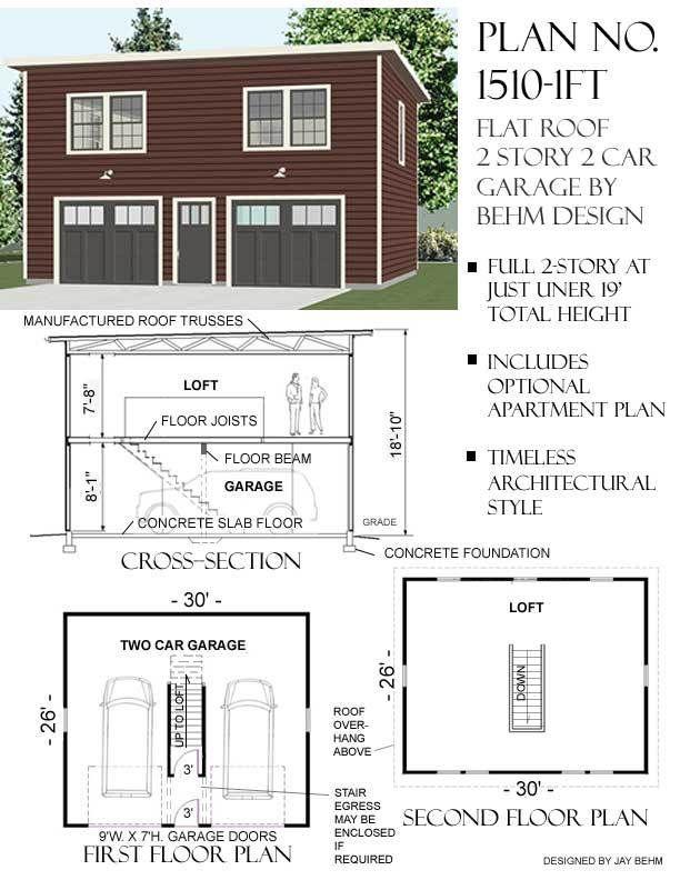 Plan 10 135 Just Garage Plans Garage Apartment Plans Garage Plans Garage Guest House