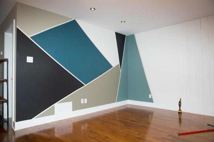 Pittura Per Pareti Ufficio.Pin Di Claudia Casale Su Decorazioni Per Pareti Case Dipinte