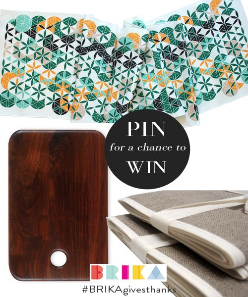Be entered to win Thanksgiving Tabletop Decor - just re-pin! #BRIKAgivesthanks