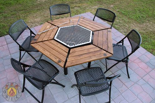 Jag Grill Firepit Grill Bbq Table Luxury Grill Firepit Grill Firepit Table Luxury Firepit Charcoal Gri Fire Pit Backyard Easy Diy Bbq Outdoor Fire Pit