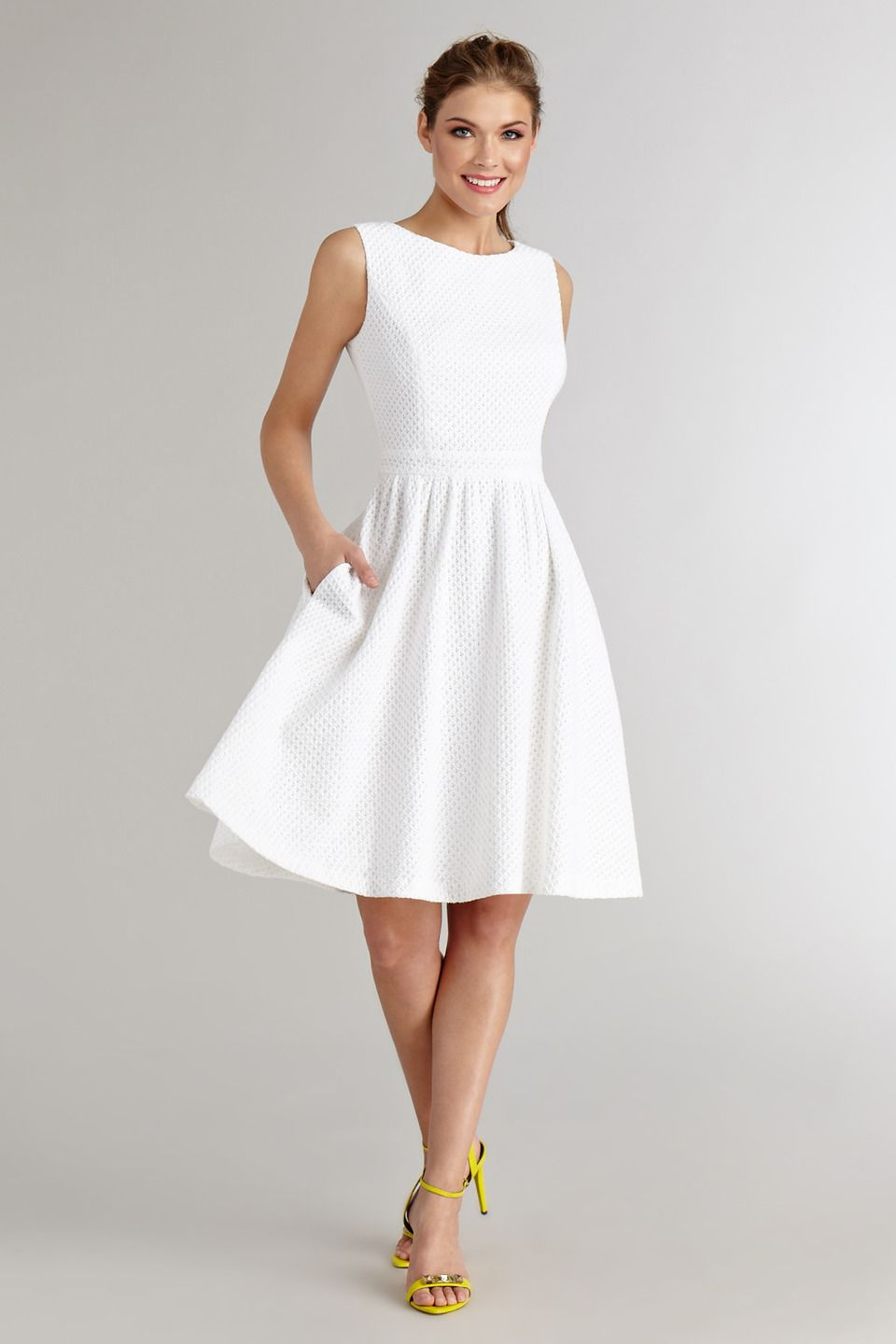 Need A Lwd For Your Bridal Shower Or Rehearsal Dinner Our Collection Of Cute White Dresses Is Off Spring Fashion Dress