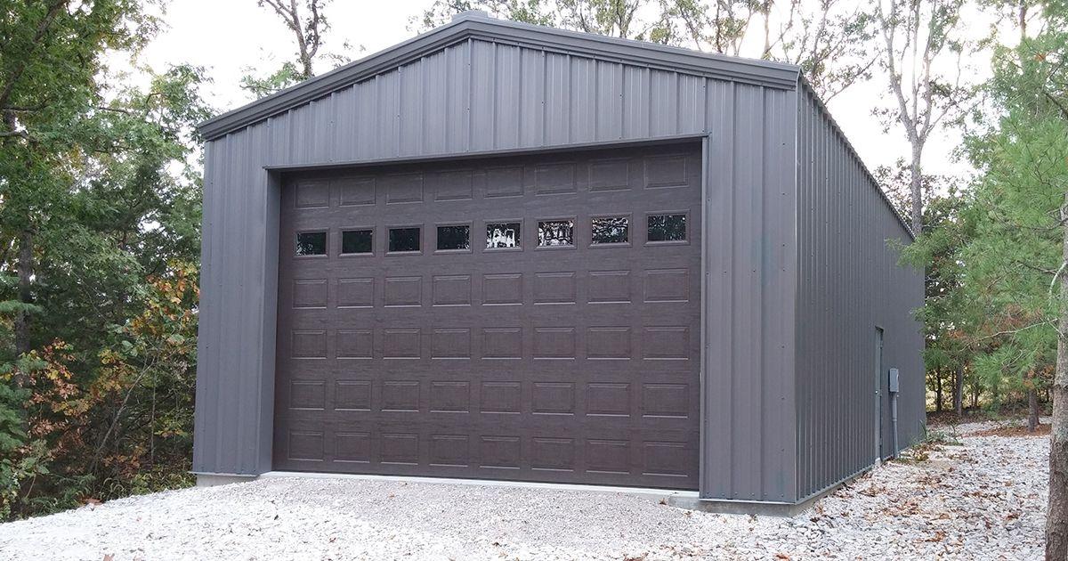 Metal Garage Kits IBeam or CChannel General Steel in