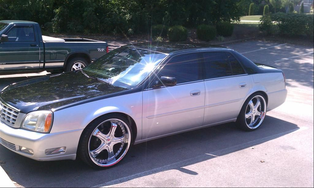2003 Cadillac Deville Dts On 22s Msobione S Cadillacdeville