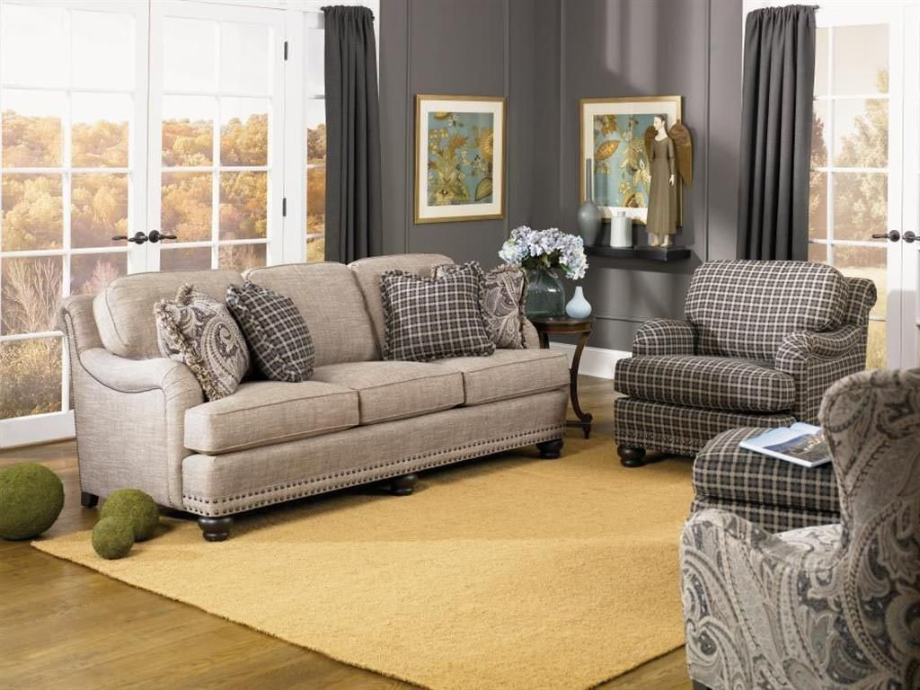 388 Sofa Front Room Furnishings Smith Brothers Furniture Furniture