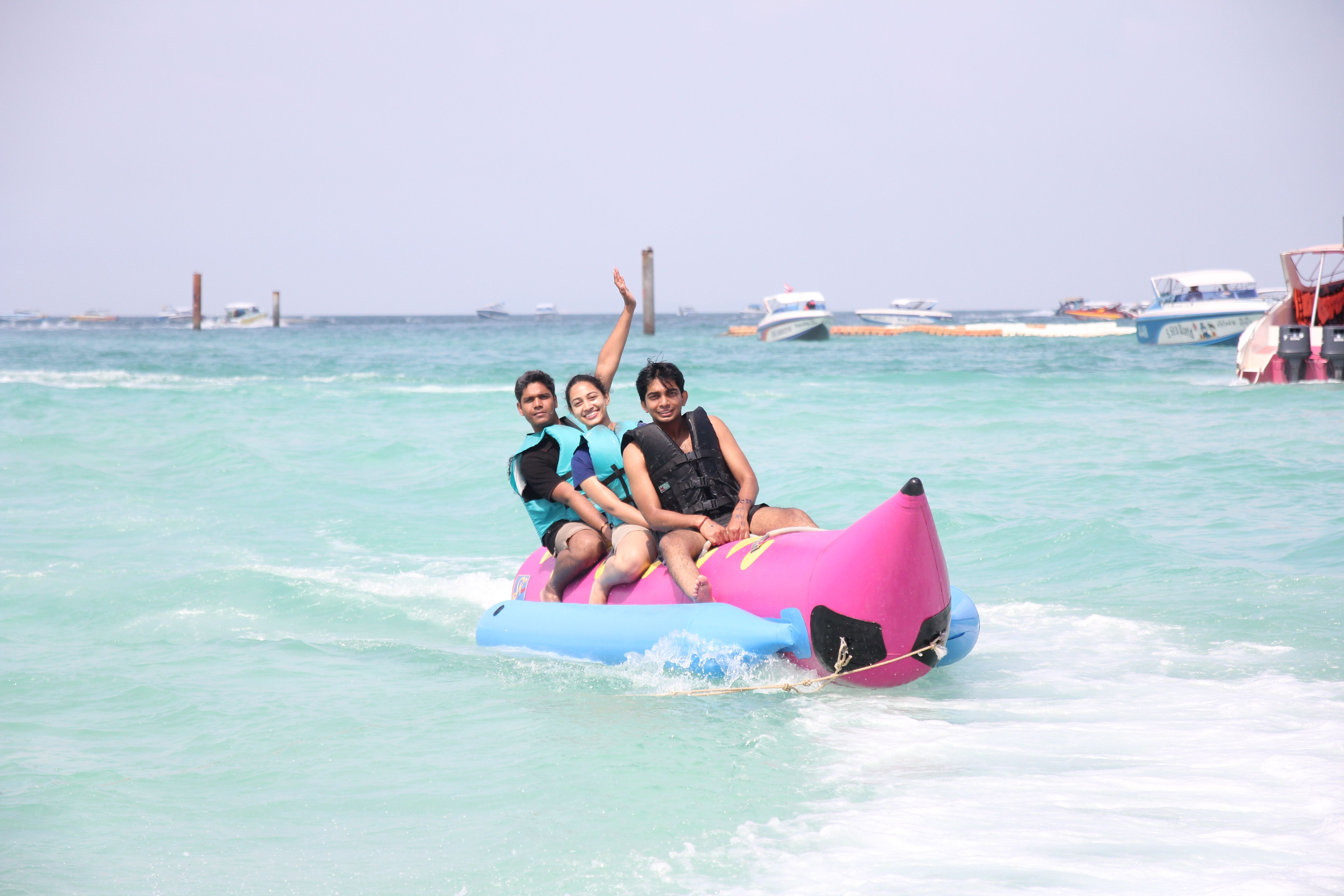 Incentive Travel Coral Island Parachute, Speed Boat ...