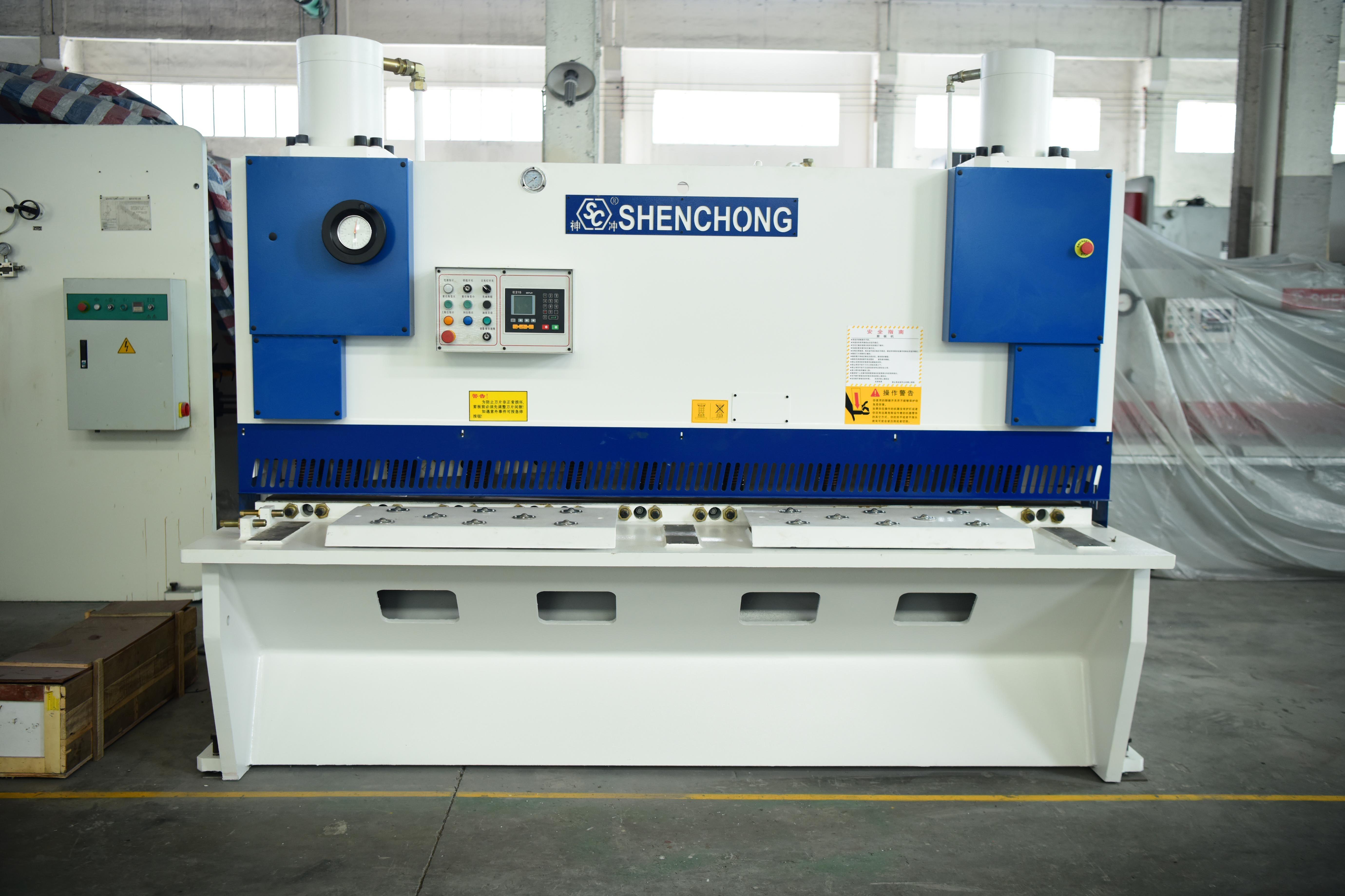 CNC #Shearing #Machine 12t 2500mm E21S CNC Shearing machine