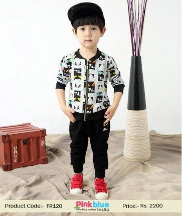 0a9aed297 Toddler   Baby Boy zipper Winter Jacket With Elastic Waist Black ...