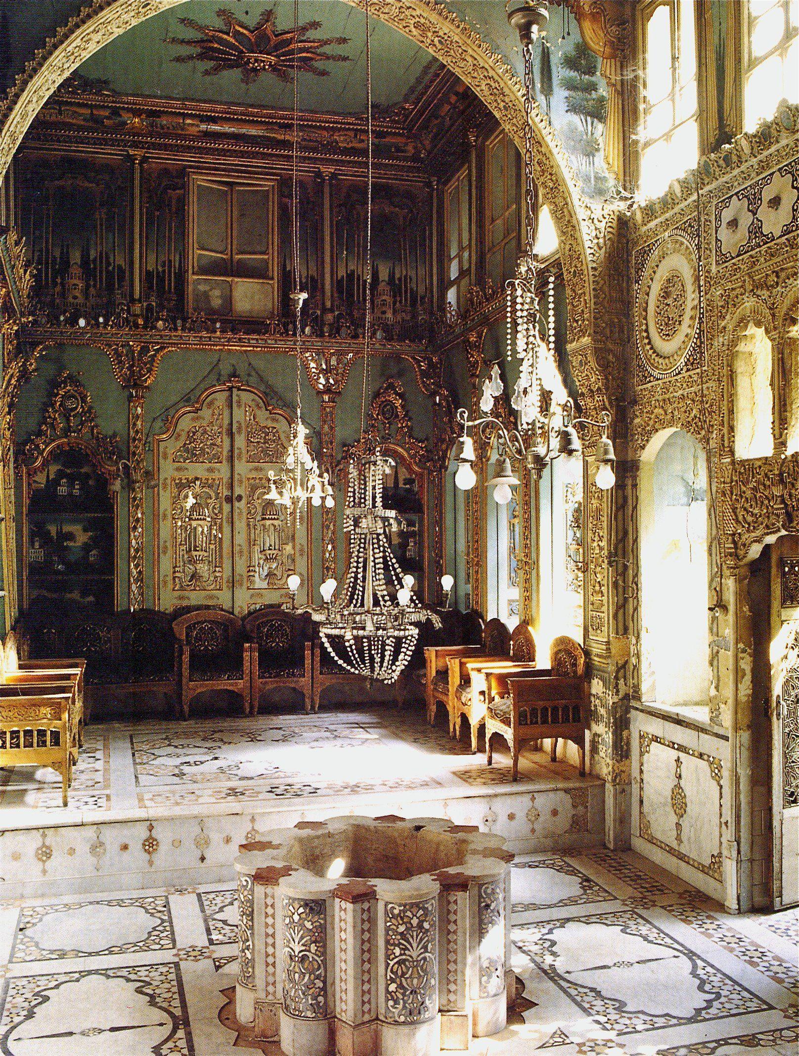 Beit mujalled damascus iran world of interiors french emirats arabes unis also syria lebanon rh pinterest