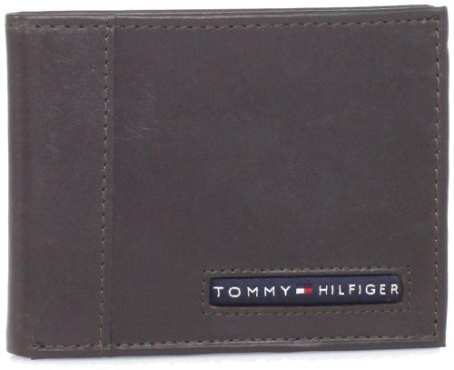 Billetera Tommy Hilfiger Men Para Hombre Cartera Cuero Passcase Accesorios NUEVO