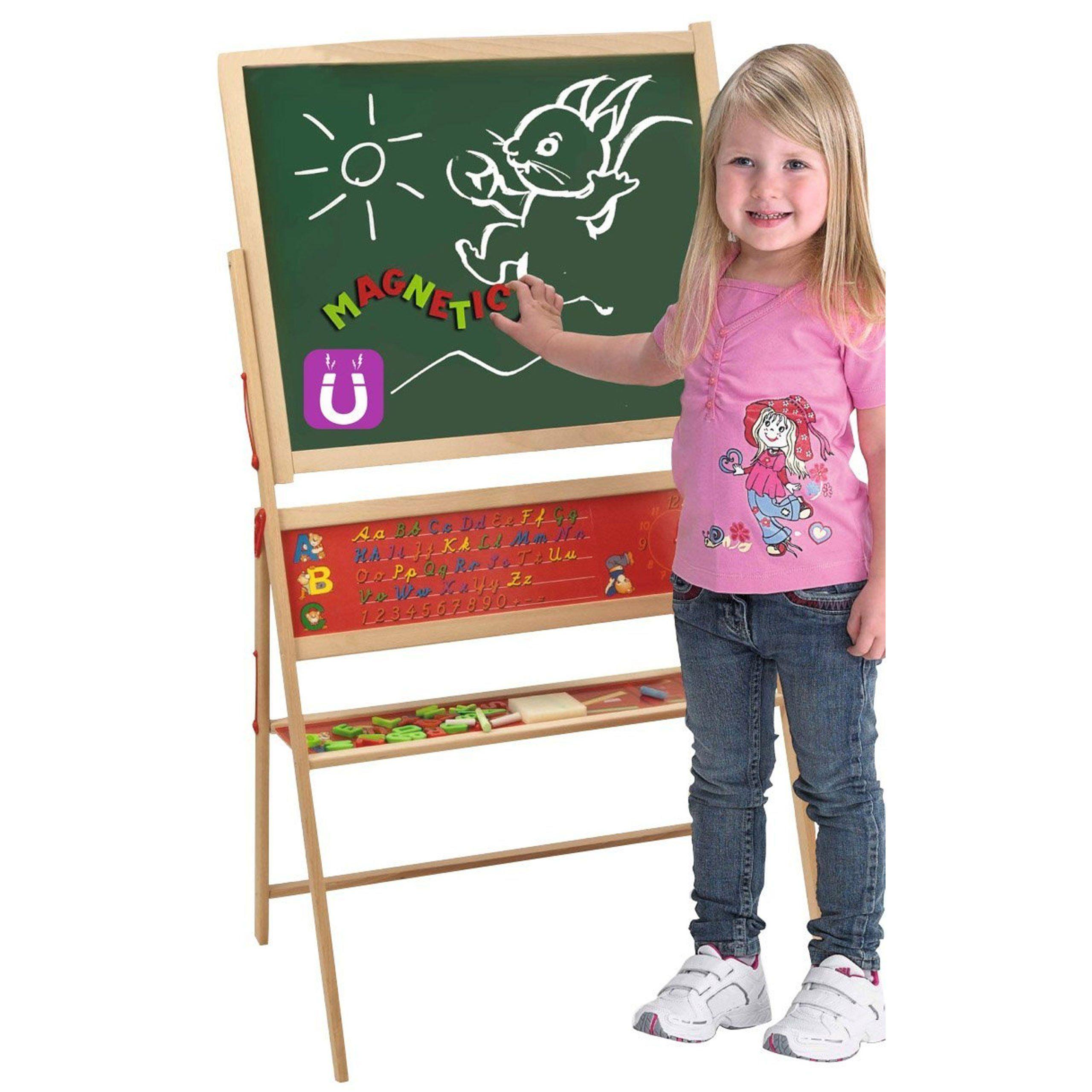 Duza Drewniana Tablica Magnetyczno Kredowa Dla Dzieci Eichhorn Brykacze Pl Internetowy Sklep Z Zabawkami Dla Dzieci Kids Rugs Magnetic Memo Board Toy Chest