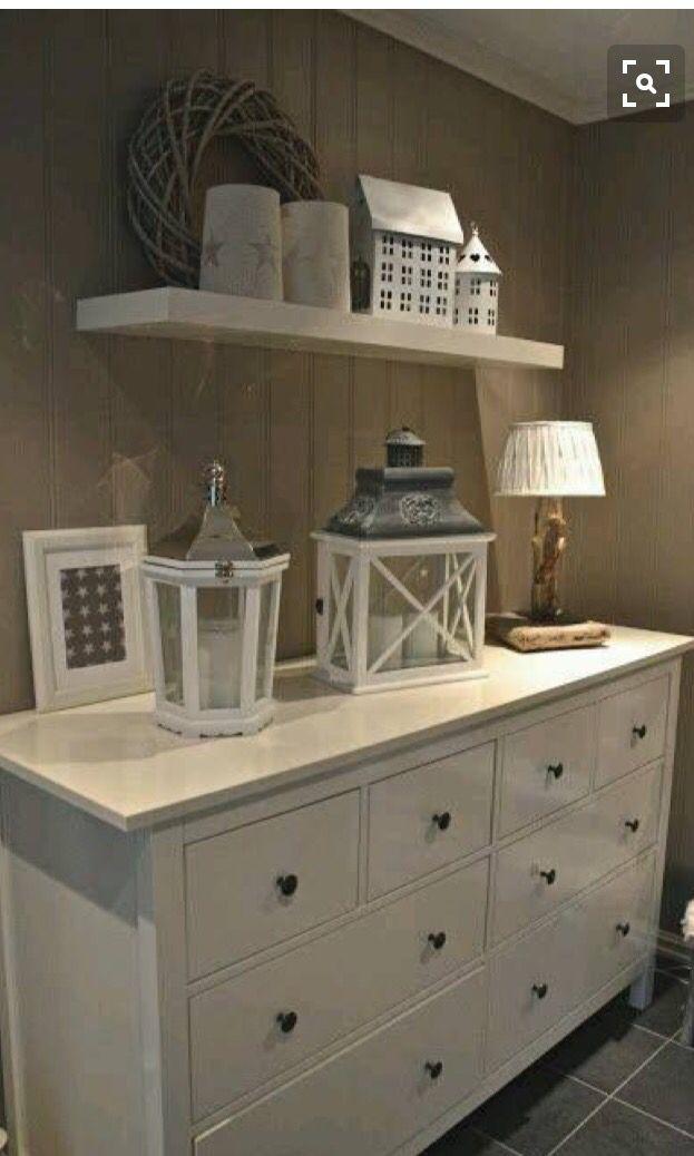 Styling Ideas For My White Ikea Hemnes Dresser