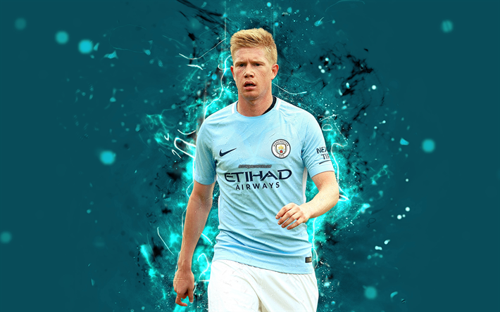 Download wallpapers 4k, Kevin De Bruyne, abstract art ...