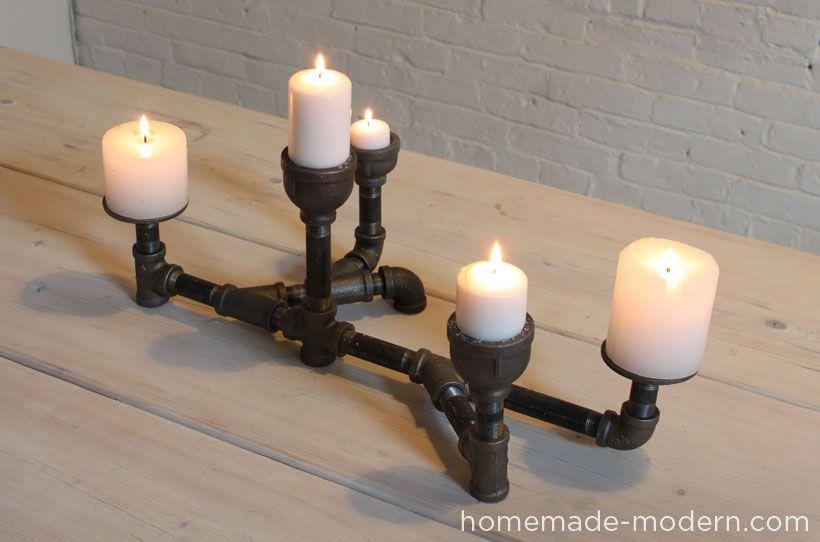 HomeMade Modern DIY EP10 Modern Candleholders