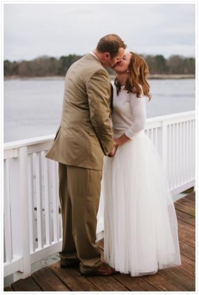Sweet Wedding Photo // Photo by: Bethany and Dan Photography on Reverie Magazine