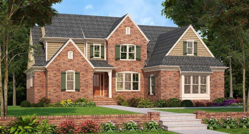 Tanglewood Plan From Frank Betz Associates Farmhouse Style House Plans Country Style House Plans Cottage Style House Plans