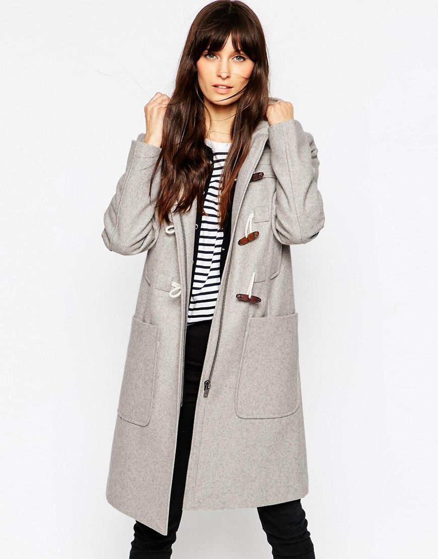 Image 1 of ASOS Duffle Coat in Longline | Servant/Masters ...