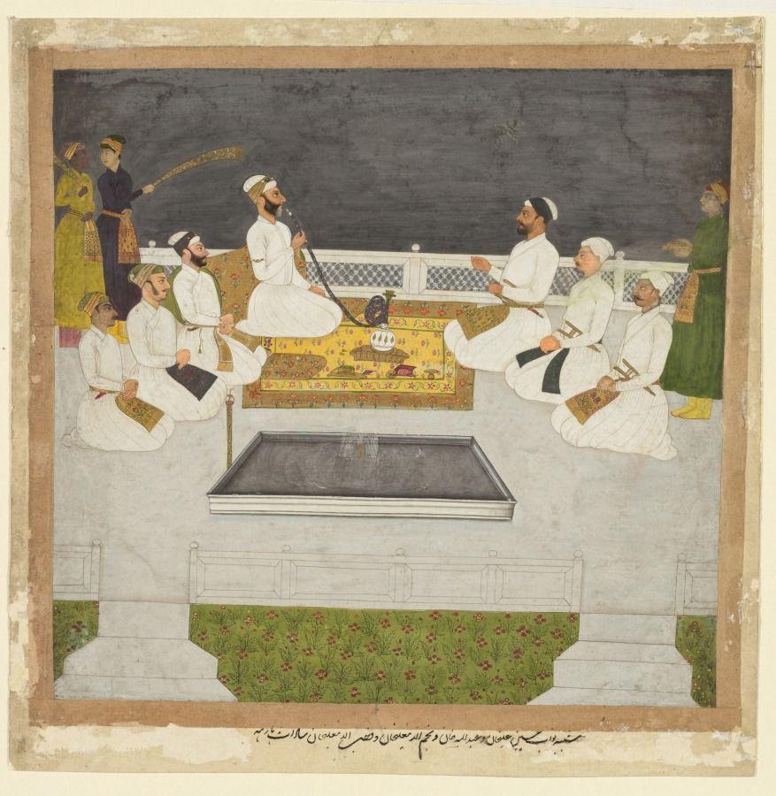 Husain Ali Khan Entertaining Brothers Sayyid