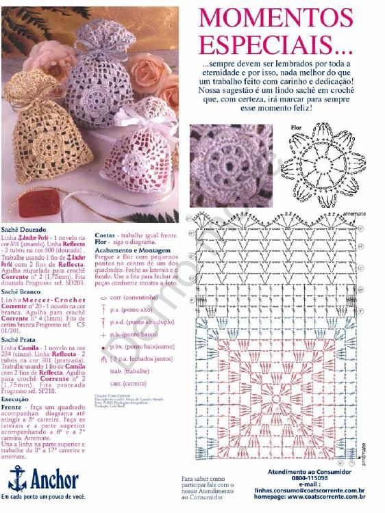 15 Crochet Bags + Diagrams | manualidades | Pinterest | Crochet ...