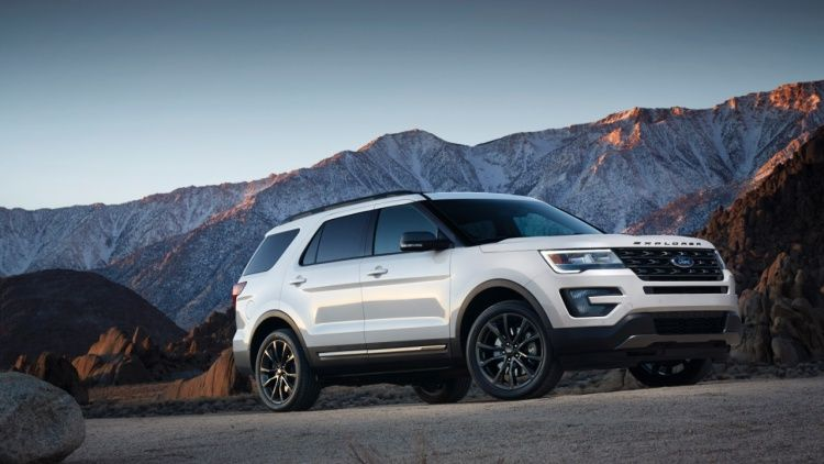 2017 Ford Explorer Xlt Sport Appearance Package Photo Gallery