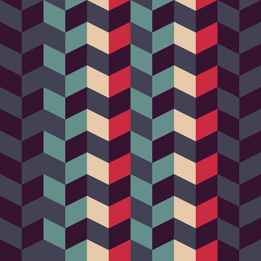 geometric abstract art abstract retro geometric pattern