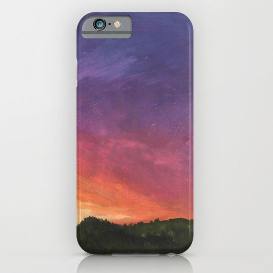 Sunset+Painting+iPhone+&+iPod+Case+by+Rahmeh+Qandil+-+$35 ...